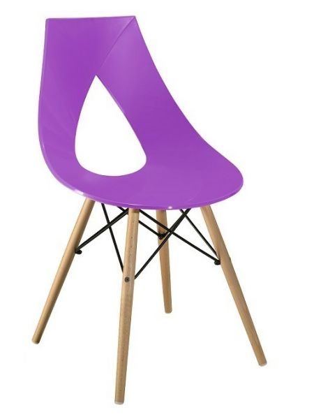 Chaise Lotus W Lilas