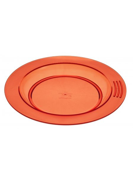 Assiette Copolyester St Romain ø230 Orange