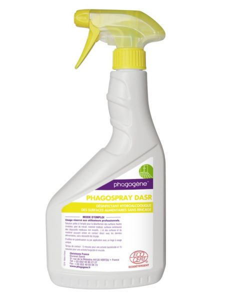 Phago spray DASR - Flacon 750 mL spray monté