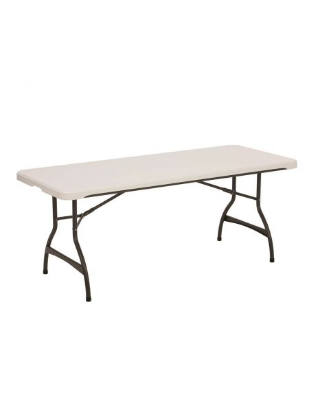 Table pliante Titan 183X76cm Beige/tube Anthracite