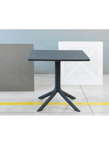 Table 'Clip' 80X80 Anthracite
