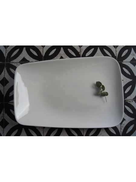 Assiette Rectangle 290X155 Gardenia
