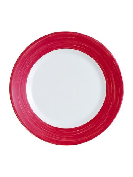 Assiette plate Verre trempé - Brush Cherry