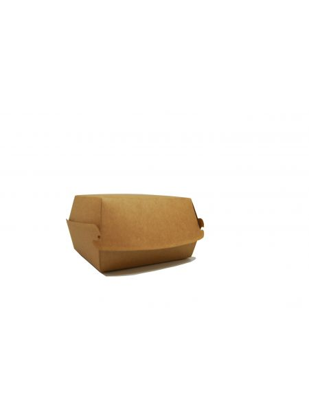 Boîte Hamburger Kraft 120X116 Le Lot de 100