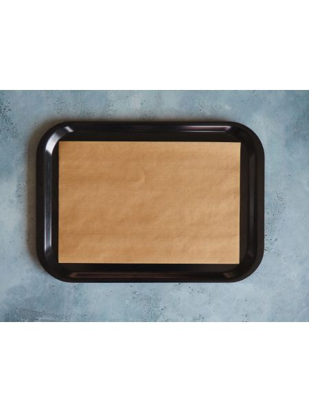 Set papier 'Fast-Food' Kraft Naturel 30X20cm Le Paquet de 500 sets