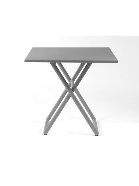 Table pliante Luce - coloris Gris pierre