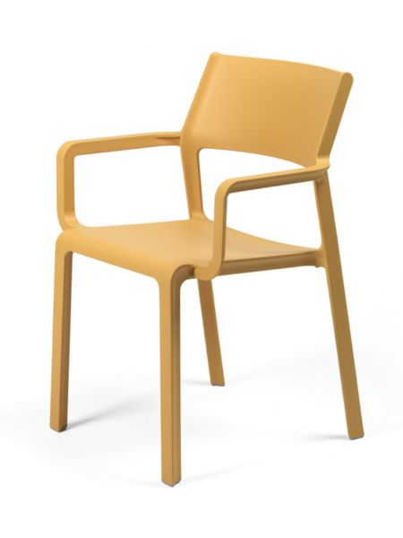 Fauteuil Lukas Bouton d'Or