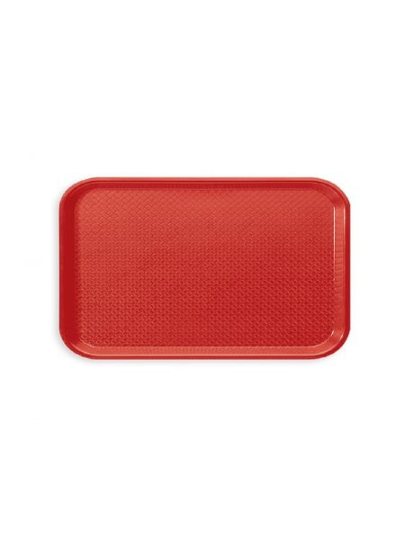 Plateau Gastro GN1/1 530X325 polypro Rouge
