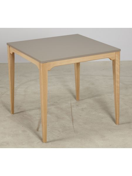 Table 'CT10' 4 pieds 80x80