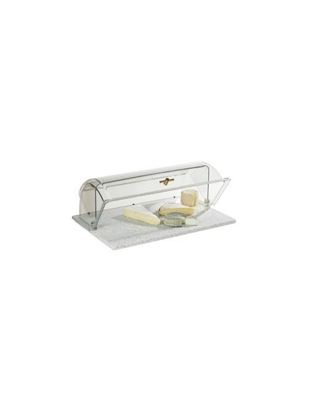 Ensemble vitrine Gastro + plateau Roll Top