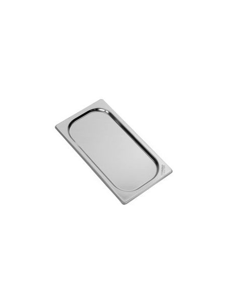Couvercle inox GN 1/1 pour bac inox