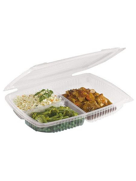 Assiette 3 compartiments - Sachet de 20