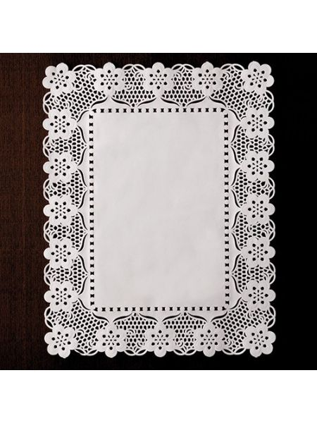 Dentelle rectangle - 360 x 450