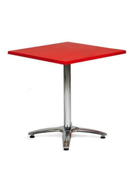 Table restaurant plateau carré Tables Roma Plateau Rouge 60 x 60