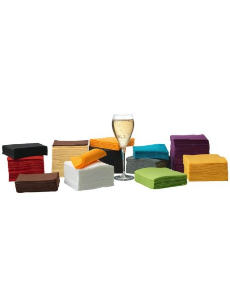 Serviette Cocktail 20 X 20 Pistache Le Carton de 2000