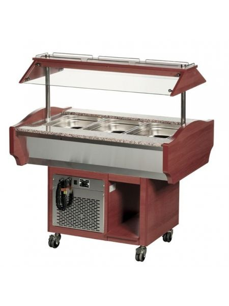 Chariot Buffet Froid - 3 Gastro 1/1