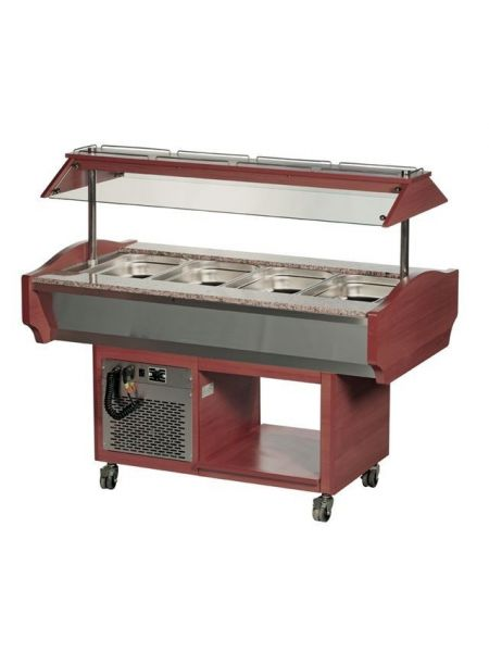 Chariot Buffet Froid - 4 Gastro 1/1